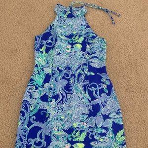 Lilly Pulitzer Size 2 Krista Shift Scuba Dress